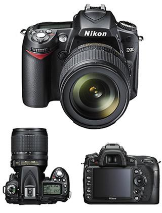 D80 Vs D90. Nikon D90